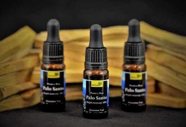 Palo Santo, olej,100 %, 9 ml, oryginalne Olejki Palo Santo.